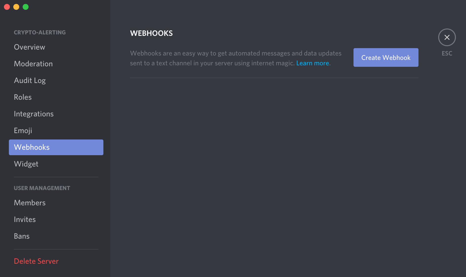 Discord Bot For Bitcoin & Crypto Notifications - Cryptocurrency Alerting